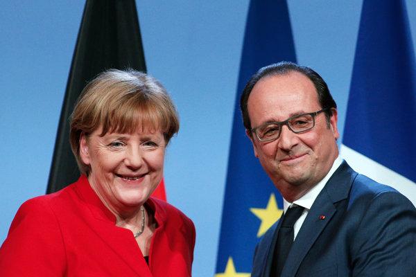 Kto je vlastne vľavo: Hollande či Merkelová?
