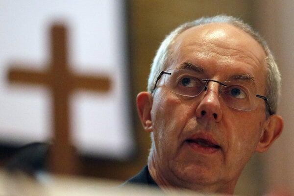 Arcibiskup Justin Welby.