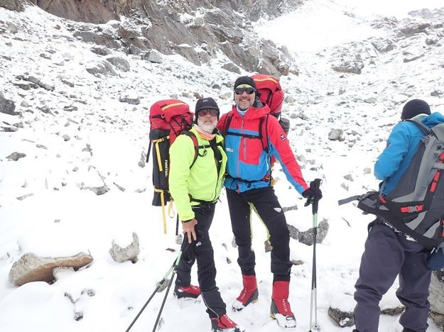 Vlado Štrba a Zolo Pál sa na výstup pripravujú v Nepále už od februára.