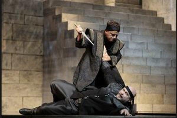 Michal Lehotský (Otello) a Zoltán Vongrey (Jago).