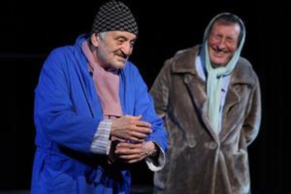Milan Lasica a Bolek Polívka sa košickému publiku predstavia v hre Mínus dvaja.