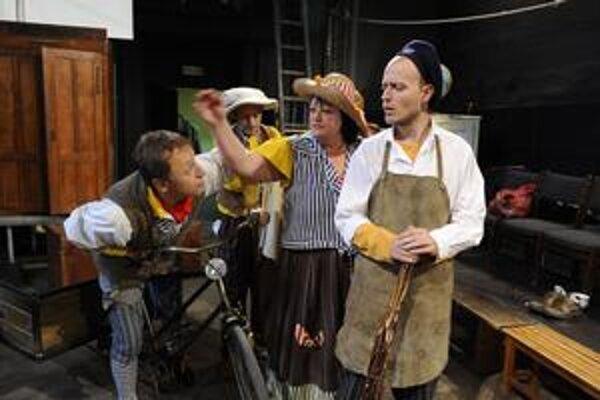 Z predstavenia Malý Leonardo, ktoré pripravujú v Mestskom divadle Žilina.