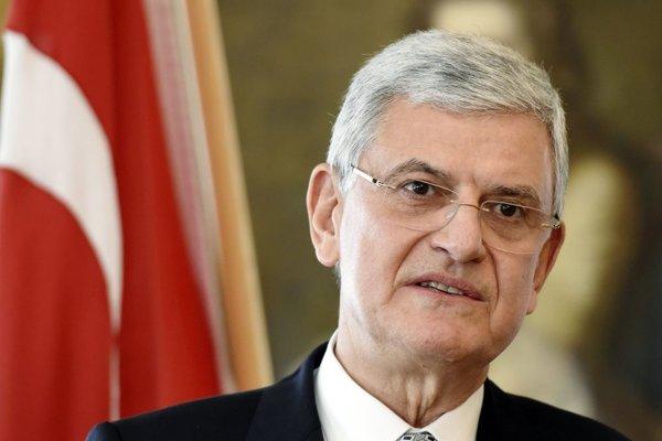 Turecký minister pre európske záležitosti Volkan Bozkir.