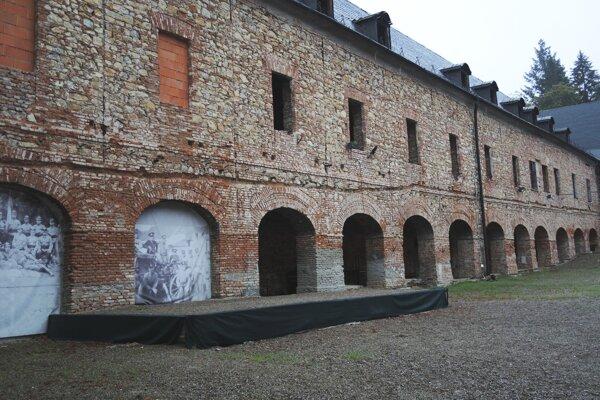 Kaštieľ v Dubnici nad Váhom.