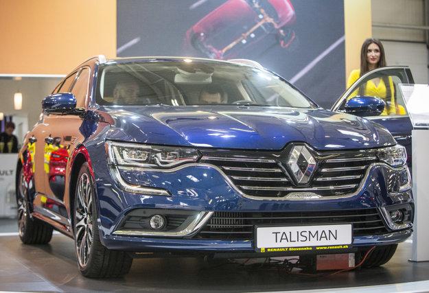Renault Talisman Grandtour je možné na Slovensku objednávať od 1.apríla.  Teraz absolvuje svoju slovenskú výstavnú premiéru.
