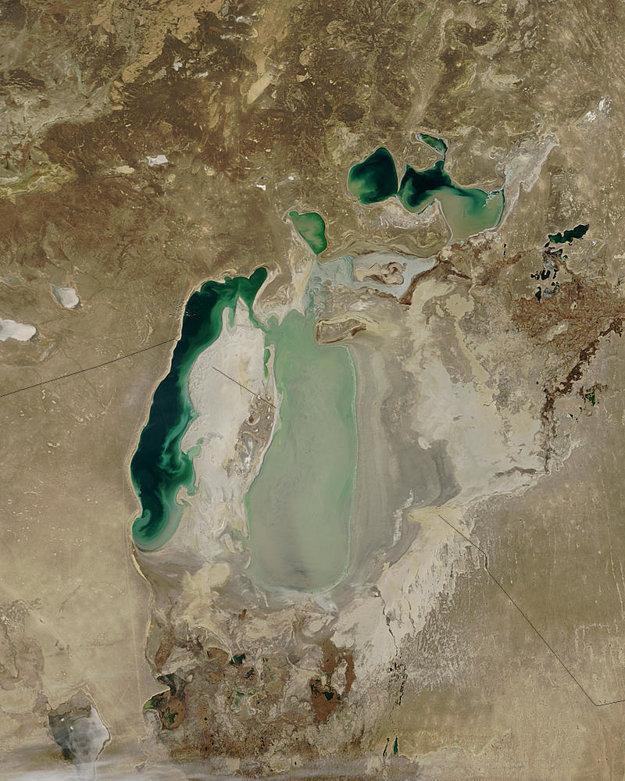 Aralské jazero.