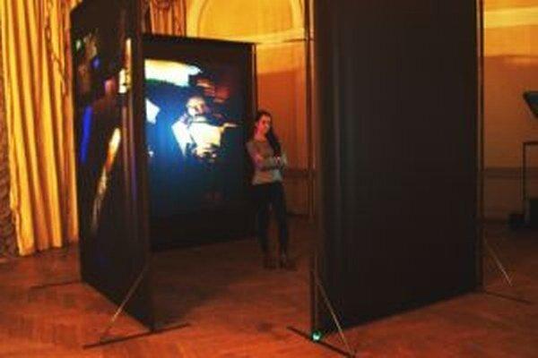 Videoinštalácia v Ponitrianskom múzeu.