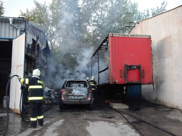Škody sa v areáli vyšplhali na viac ako 40-tisíc eur.