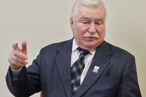 Poľský exprezident Walesa pred voľbami podporuje opozíciu