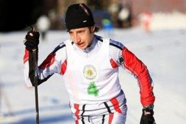 Kremnický bežec na lyžiach Igor Hovorič sa stal majstrom Slovenska.