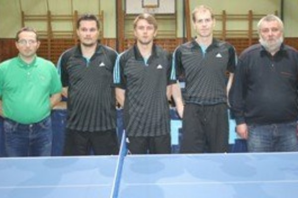 V sezóne prehrali stolní tenisti Štiavnických Baní iba dve stretnutia.