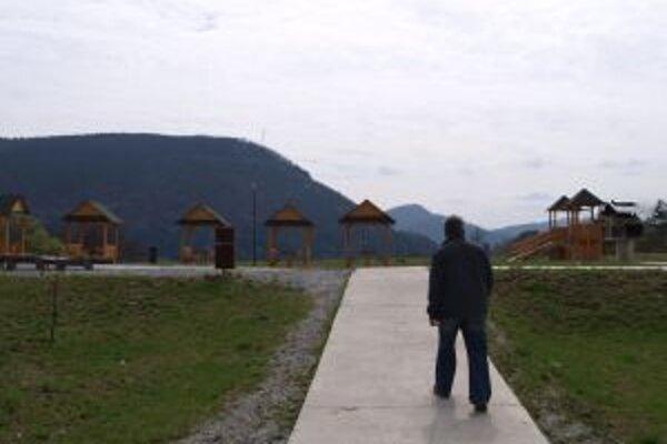 Nová oddychová zóna vznikla na mieste, kam ľudia vozili odpad.