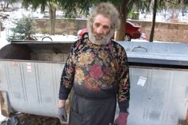 Ján Suchý žije na ulici 28 rokov, prespávať v nocľahárni odmieta.
