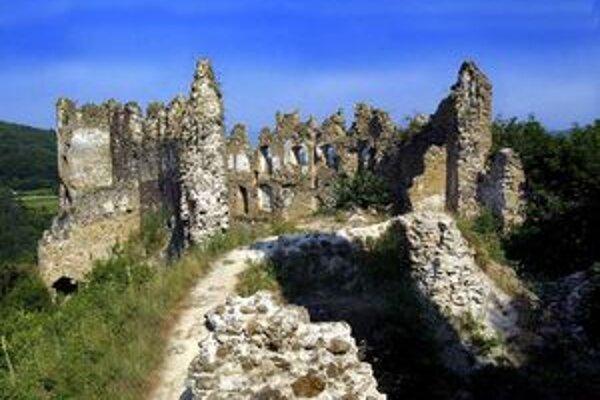 Šášovský hrad.