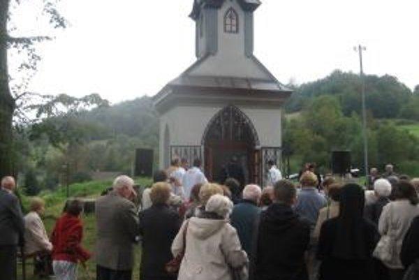 Na sviatok Sedembolestnej Panny Márie vysvätili v Lúčkach sochu patrónky Slovenska.