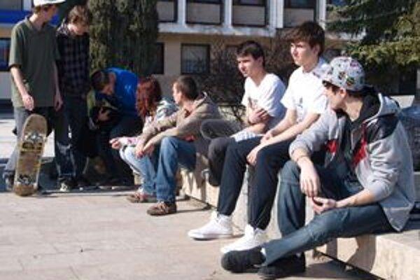 Zámer postaviť v Žiari skejtpark podporujú najmä mladí ľudia.