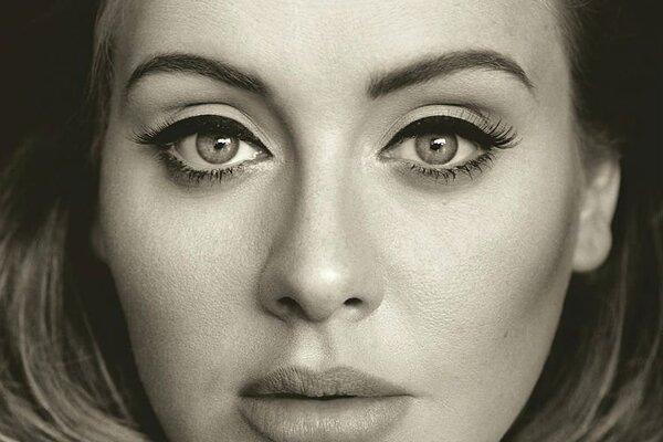 Speváčka Adele na obale nového albumu