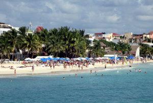 Mexická destinácia Playa del Carmen patrí do svetovej päťky v obľúbenosti.