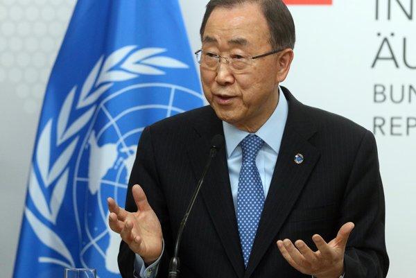 Generálny tajomník OSN Pan Ki-mun.