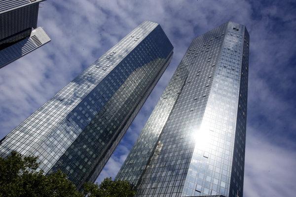 Sídlo nemeckej Deutsche Bank.