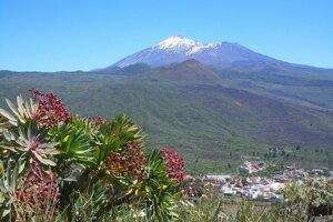 Vnútrozemie Tenerife ponúka pestrú prírodu.