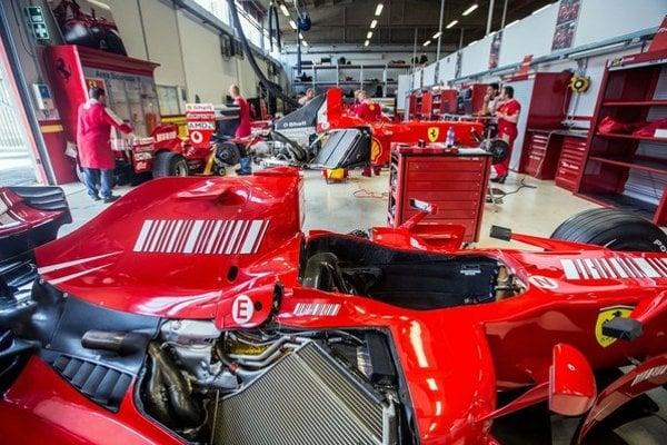 Slávny monopost Ferrari
