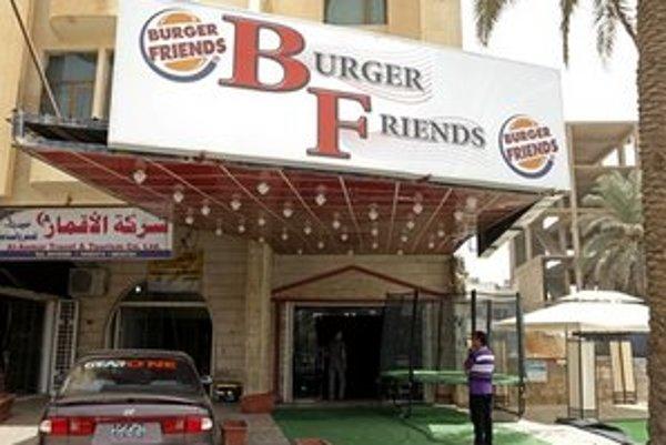 Jedna z nových reštaurácií v Bagdade.