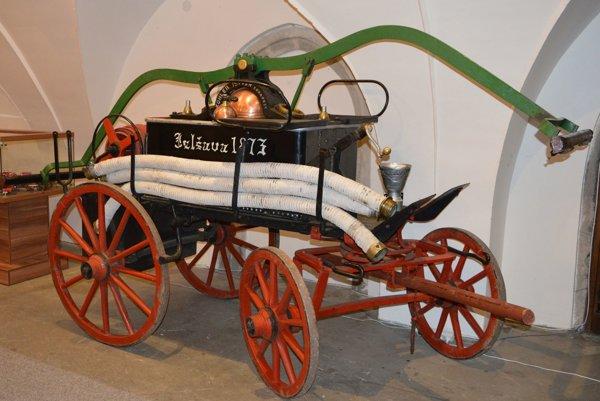 Jeden z cenných exponátov na výstave.