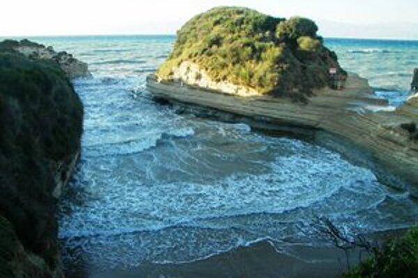 Pláže na Korfu patria k najkrajším v celom Grécku.