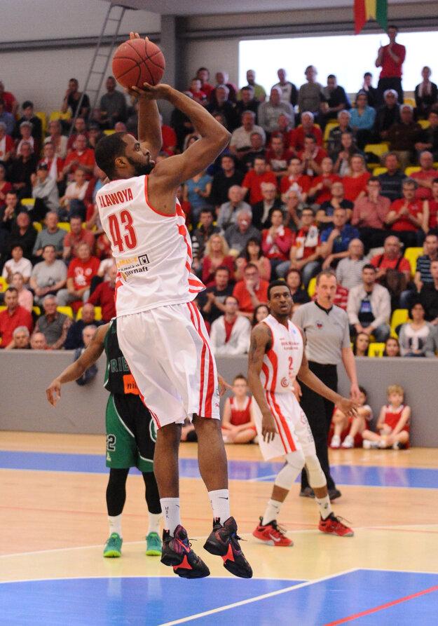 Alawoya (s číslom 43) zaznamenal dokopy 36 bodov.