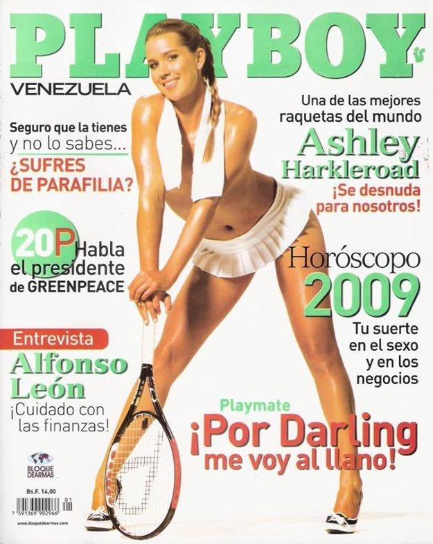 Ahley Harkleroadová patrila medzi talentované americké hráčky. Viac ako na kurtoch sa však zviditeľnila pózovaním pre známy pánsky magazín.