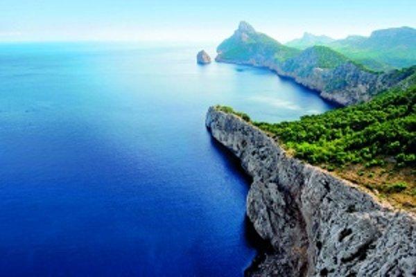 Cap de Formentor je východný koniec poloostrova Formentor