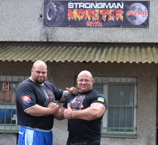 Silná dvojka - Milan Šuľan (vľavo) s Konstantinom Ilinom.