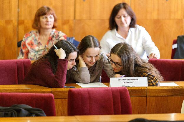 Na súťaži mala zastúpenie aj Stredná odborná škola v Námestove.
