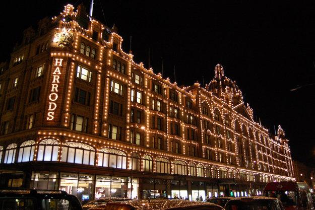 Londýnsky honosný obchodný dom Harrods