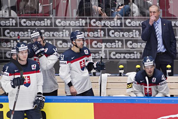 Ani na striedačke slovenského tímu všetko nefungovalo tak, ako by malo.