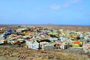 Espargos - hlavné mesto ostrova Sal.