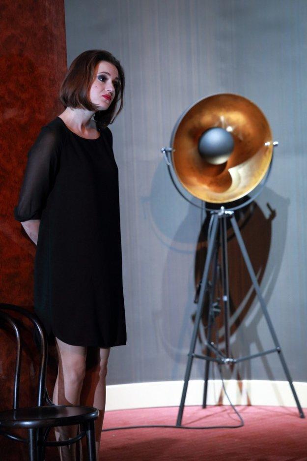 Rebeka Poláková v inscenácii Obeť v Divadle Aréna získala ocenenie za koncentrovaný herecký výkon.