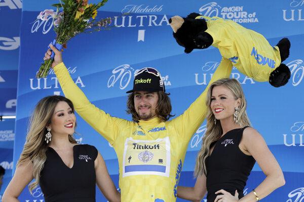 Peter Sagan po víťaznej etape.
