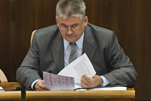 Minister práce, sociálnych vecía rodiny SR Ján Richter.
