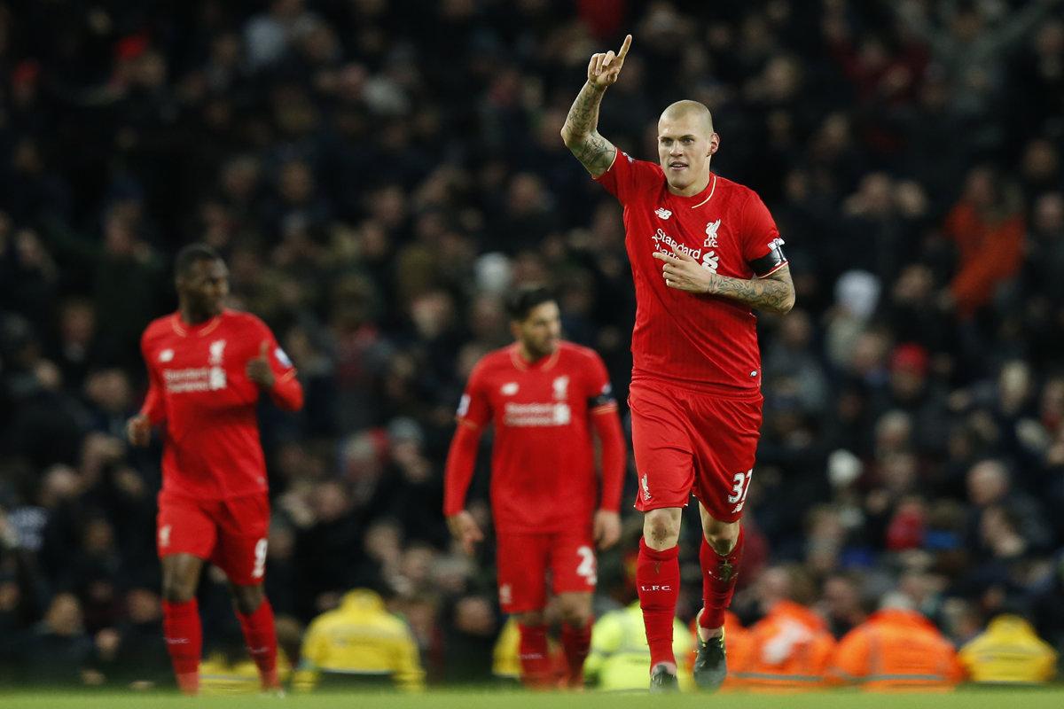 Liverpool hrá finále Európskej ligy, Škrtel bude asi na lavičke