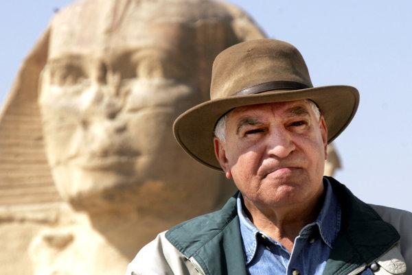 Záhí Hawás je najznámejším egyptským archeológom.