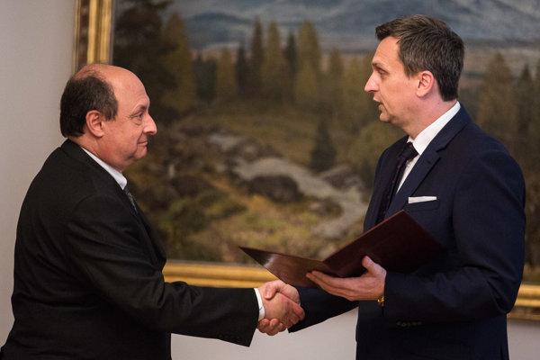 Predseda NR SR Andrej Danko a Eduard Bárány.