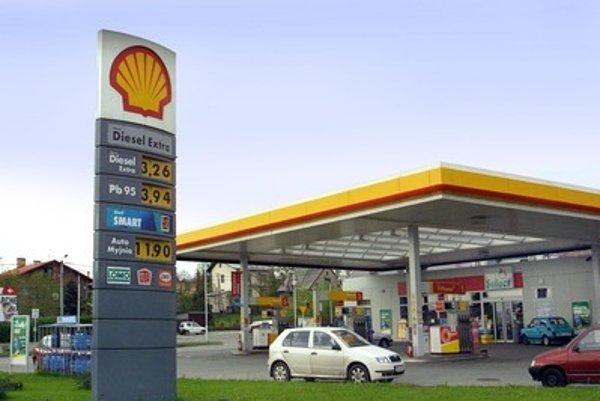 Shell pôsobí aj na Slovensku v rámci čerpacích staníc.