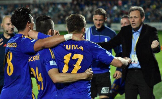Michalovce sa víťazstvom nad Žilinou udržali v prvej lige.