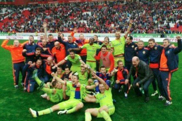 Hráči CSKA Moskva.