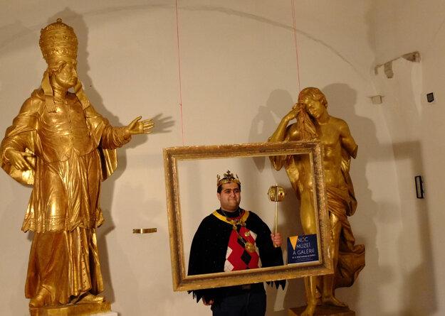 Foto z Noci múzeí a galérií v Kremnici.