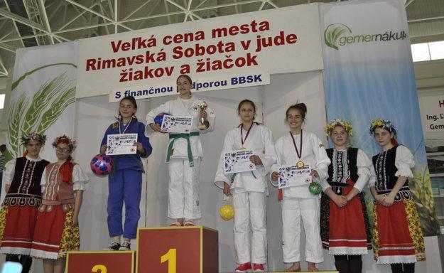 Veronika Útisová - 3. miesto.