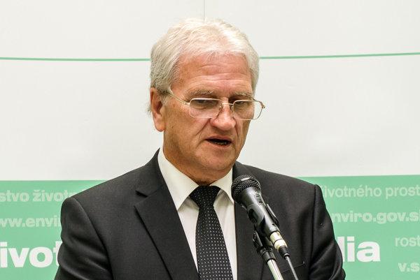 Generálny riaditeľ Slovenského vodohospodárskeho podniku Marián Supek.