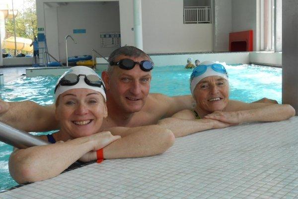 Zľava: Nina Hlatká, Róbert Hlaváč a Mária Hausnerová.